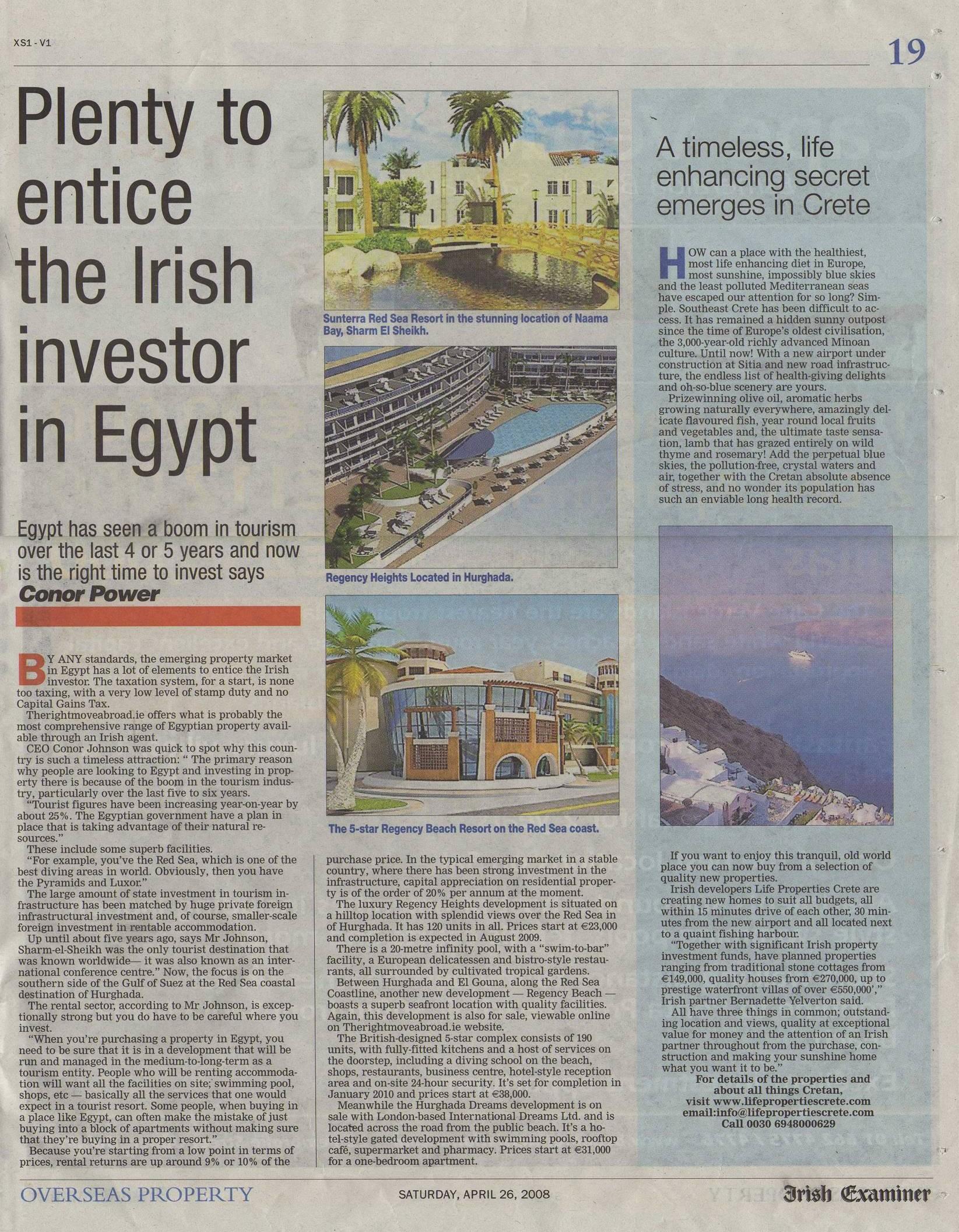 Examiner Apr 08 Egypt