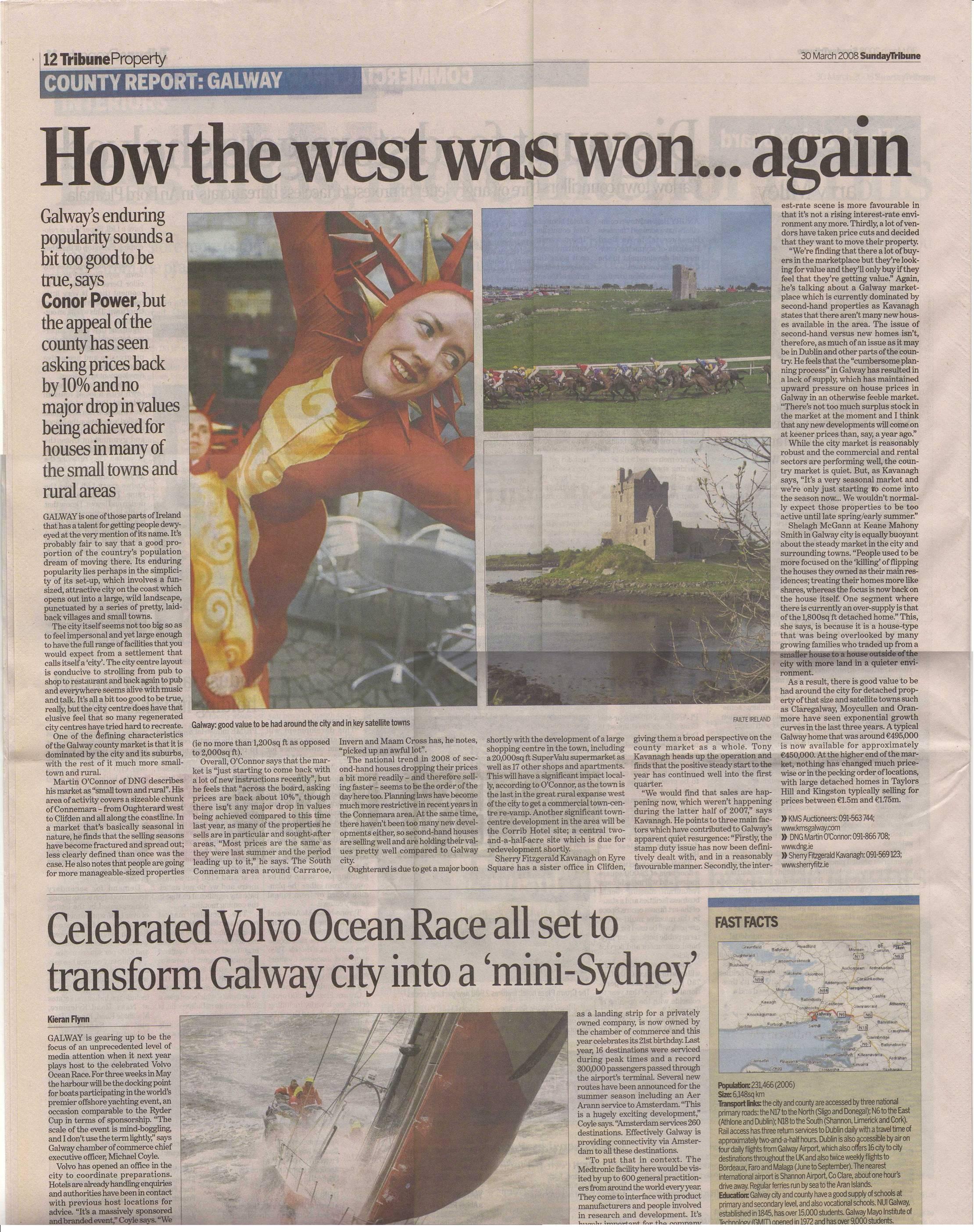 Galway - Tribune Mar 08
