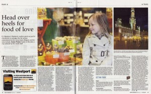 Irish Examiner - Chocolate in Brussels, March 2014