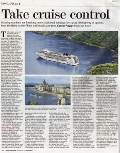 Irish Examiner - Cruises, Feb 2014