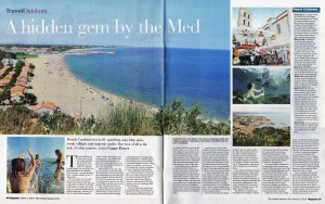 Argelès-sur-Mer - Sunday Business Post, March 2014