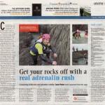 Coasteering - Irish Examiner, April 2014
