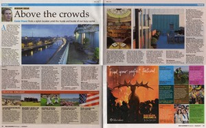 Hotel Review; Clarence, Dublin - Irish Examiner August 2011