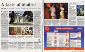 A Taste of Madrid - Irish Examiner, January 2015