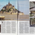 Mont St Michel - Sunday Business Post, May 2014