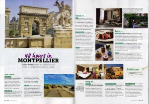 48 Hours in Montpellier - Cara Magazine, Apr/May 2016