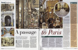 Passages of Paris - Sunday Business Post, December 2014